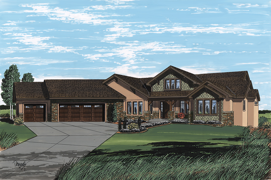 2015 parade home features icf construction pioneer west for Icf residential construction